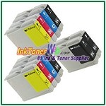 Brother LC51 Compatible ink Cartridges - 10 Piece Combo