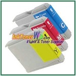 Brother LC51 Compatible ink Cartridges - 3 Piece Combo