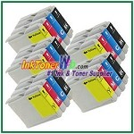Brother LC51 Compatible ink Cartridges - 20 Piece Combo