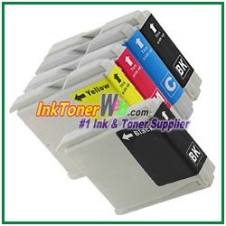 Brother LC51 Compatible ink Cartridges - 5 Piece Combo