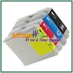 Brother LC51 Compatible ink Cartridges - 4 Piece Combo