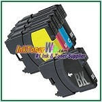 Brother LC65 High Yield Compatible ink Cartridges - 5 Piece Combo