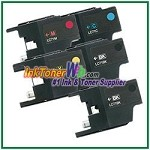 Brother LC71 Compatible ink Cartridges - 5 Piece Combo