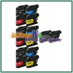 Brother LC203XL Compatible ink Cartridges - 14 Piece Combo