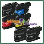 Brother LC203XL Compatible ink Cartridges - 6 Piece Combo