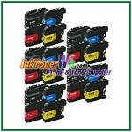 Brother LC203XL Compatible ink Cartridges - 20 Piece Combo