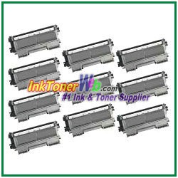 Brother TN450 High Yield Compatible Toner Cartridges - 10 Piece