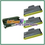 Brother TN330 & DR360 Compatible Toner Cartridge & Drum Unit - 4 Piece Combo