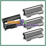 Brother TN420 & DR420 Compatible Toner Cartridge (High Yield) & Drum Unit - 4 Piece Combo