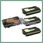 Brother TN530 & DR500 Compatible Toner Cartridge (High Yield) & Drum Unit - 4 Piece Combo