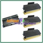 Brother TN620 & DR620 Compatible Toner Cartridge (High Yield) & Drum Unit - 4 Piece Combo
