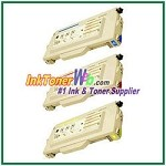 Brother TN04C, TN04M, TN04Y High Yield Compatible Toner Cartridges - 3 Piece Combo