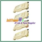 Brother TN04BK, TN04C, TN04M, TN04Y High Yield Compatible Toner Cartridges - 4 Piece Combo