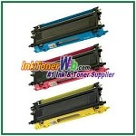 Brother TN110C, TN110M, TN110Y Compatible Toner Cartridges (High Yield) - 3 Piece Combo