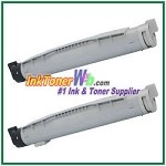 Brother TN-12BK Compatible Black Toner Cartridges - 2 Piece