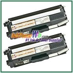 Brother TN-315BK High Yield Compatible Black Toner Cartridges - 2 Piece