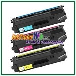 Brother TN-336C TN-336M TN-336Y High Yield Compatible Toner Cartridges - 3 Piece Combo