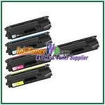 Brother TN-336BK TN-336C TN-336M TN-336Y High Yield Compatible Toner Cartridges - 5 Piece Combo