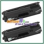 Brother TN-331BK Compatible Black Toner Cartridge - 2 Piece