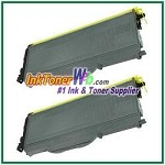 Brother TN350 Compatible Toner Cartridges - 2 Piece