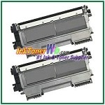 Brother TN450 High Yield Compatible Toner Cartridges - 2 Piece