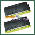 Brother TN460 High Yield Compatible Toner Cartridges - 2 Piece