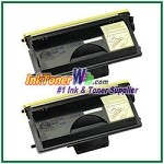 Brother TN-700 Compatible Toner Cartridges - 2 Piece