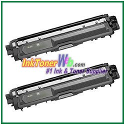 Brother TN-221BK Compatible Black Toner Cartridges - 2 Piece