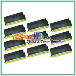 Brother TN460 High Yield Compatible Toner Cartridges - 10 Piece