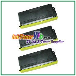 Brother TN570 High Yield Compatible Toner Cartridges - 3 Piece