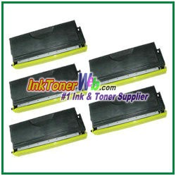 Brother TN570 High Yield Compatible Toner Cartridges - 5 Piece