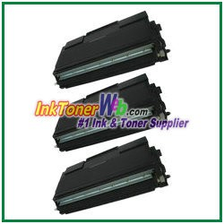Brother TN-670 Compatible Toner Cartridges - 3 Piece