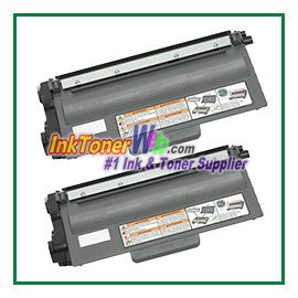 Brother TN720 Compatible Toner Cartridge (High Yield) - 2 Piece