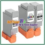 Canon BCI-24 Compatible ink Cartridges - 3 Piece Combo