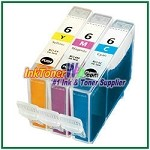 Canon BCI-6 Compatible ink Cartridges - 3 Piece Combo