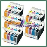 Canon BCI-6 Compatible ink Cartridges - 20 Piece Combo