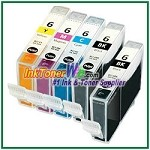 Canon BCI-6 Compatible ink Cartridges - 5 Piece Combo