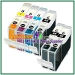 Canon BCI-6 Compatible ink Cartridges - 6 Piece Combo