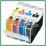 Canon BCI-6 Compatible ink Cartridges - 4 Piece Combo