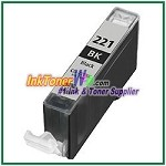 Canon CLI-221 CLI-221BK Compatible Black ink Cartridge