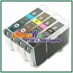 Canon CLI-8 Compatible ink Cartridges - 4 Piece Combo