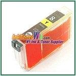 Canon CLI-8 CLI-8Y Compatible Yellow ink Cartridge