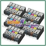 Canon PGI-220 CLI-221 Compatible ink Cartridges - 25 Piece Combo