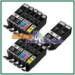 Canon PGI-250XL CLI-251XL Compatible ink Cartridges - 12 Piece Combo