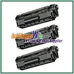 Canon 104 (FX-9/FX-10) Compatible Toner Cartridges - 3 Piece