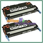 Canon 117 Black Compatible Toner Cartridges - 2 Piece