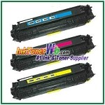 Canon 118 Cyan Magenta Yellow Compatible Toner Cartridges - 3 Piece Combo