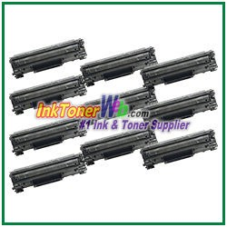 Canon 128 Compatible Toner Cartridges - 10 Piece