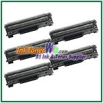 Canon 128 Compatible Toner Cartridges - 5 Piece