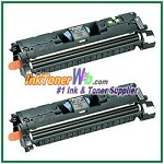 Canon EP-87 Black Compatible Toner Cartridges - 2 Piece